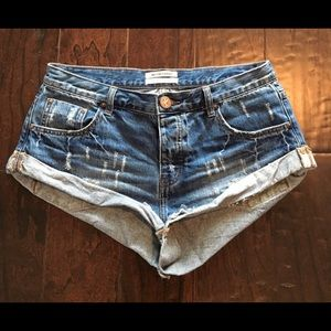 One teaspoon bandit shorts size 28